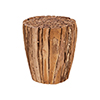 This item: Teak Branch Natural Ottoman