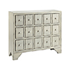 This item: Elkhart Hand-Painted White and Black Chest