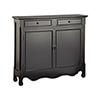 This item: Claridon Black Cabinet
