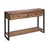 This item: Armour Square Grey Bronze Console Table