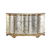 This item: Celeste Hand-Painted Silver and Gold Credenza