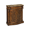 This item: William Aged Pecan and Brown Cabinet