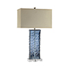 This item: Arendell Blue One-Light Table Lamp