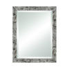 This item: Crystalline Grey Agate 28 x 36 Inch Wall Mirror