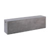 This item: Endai Polished Concrete 71-Inch Bench