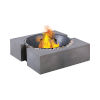 This item: Volcano Polished Concrete Outdoor Fire Pit