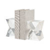 This item: Danske Clear Crystal Bookend, Set of Two
