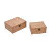 This item: Cork Natural Cork Decorative Box, Set of Two