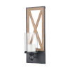 This item: Billings Natural Wood with Dark Pewter Candle Holder