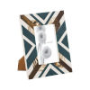This item: Primary Blue White and Gold 4 x 6 Inch Picture Frame