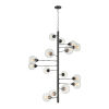 This item: Composition Oil Rubbed Bronze with Clear 15-Light Chandelier