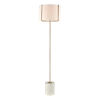 This item: Trussed White Terazzo with Gold One-Light Floor Lamp