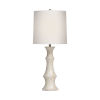 This item: Instinct Natural Shell with White One-Light Table Lamp