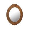 This item: Norwood Dark Mango 13-Inch Oval Wall Mirror