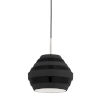 This item: Calverton Polished Nickel and Black One-Light Pendant