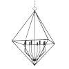 This item: Haines Aged Iron Eight-Light Pendant