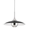 This item: Clarkson Polished Nickel One-Light Pendant