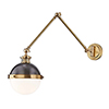 This item: Latham Aged Antique Distressed Bronze One-Light Wall Sconce