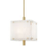 This item: Paladino Aged Brass 16-Inch Four-Light LED Pendant