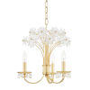This item: Beaumont Aged Brass Three-Light Pendant
