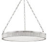 This item: Lynden Polished Nickel Eight-Light Chandelier