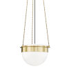This item: Silo Aged Brass 15-Inch One-Light Pendant