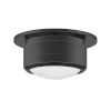 This item: Greenport Old Bronze and White Seven-Inch LED Flush Mount