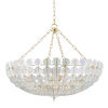 This item: Floral Park Aged Brass 12-Light Pendant