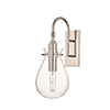 This item: Ivy Polished Nickel One-Light LED Wall Sconce