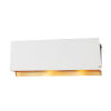 This item: Ratio Aged Brass 19-Inch Two-Light Wall Sconce