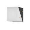 This item: Ratio Black and White Seven-Inch One-Light Wall Sconce