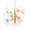 This item: Opera Aged Brass 14-Light Pendant