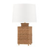 This item: Weaver Gold and White One-Light Table Lamp
