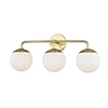 This item: Paige Aged Brass 3-Light 24-Inch Bath Vanity