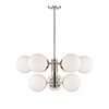 This item: Paige Polished Nickel 9-Light 33-Inch Chandelier