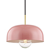 This item: Avery Aged Brass 1-Light 14-Inch Pendant