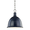 This item: Blair Polished Nickel 1-Light 11-Inch Pendant