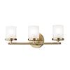 This item: Ryan Aged Brass 3-Light 17.5-Inch Bath Vanity