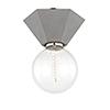 This item: Lynn Concrete 1-Light Seven-Inch Flush Mount