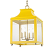 This item: Leigh Aged Brass Marigold 4-Light 16-Inch Pendant