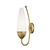 This item: Amee Aged Brass 1-Light Five-Inch Wall Sconce