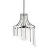 This item: Kylie Polished Nickel 1-Light 12-Inch Pendant