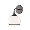 This item: Reese Old Bronze One-Light Bathroom Vanity Light
