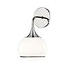 This item: Reese Polished Nickel One-Light Bathroom Vanity Light