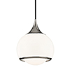 This item: Reese Polished Nickel One-Light Pendant