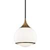 This item: Reese Aged Brass One-Light Pendant
