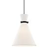 This item: Julia Black One-Light Pendant