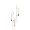 This item: Ariel Polished Nickel Two-Light Pendant