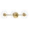 This item: Alexa Aged Brass Three-Light Bath Vanity