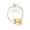 This item: Ringo Aged Brass One-Light Wall Sconce